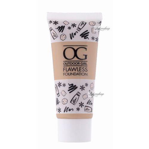- outdoor girl flawless foundation - lekki podkład do twarzy - natural beige marki W7