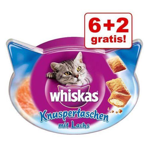 Whiskas 6 + 2 gratis!  temptations przysmak dla kota, 8 x 60g - kurczak z serem (5998749134009)