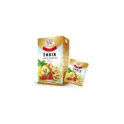 Herbata Imbir + pigwa + trusk. 20*2g MALWA