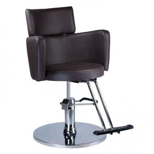Fotel fryzjerski LUIGI czarny z kategorii Akcesoria fryzjerskie