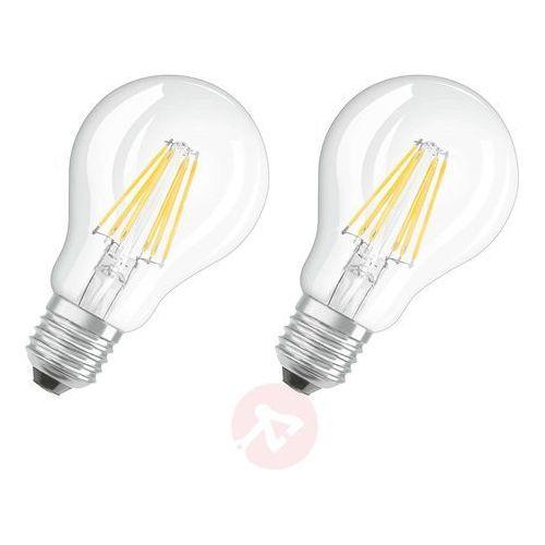 Żarówka LED OSRAM 4052899972162, E27, 7 W = 60 W, 806 lm, 2700 K, ciepła biel, 230 V, 10000 h, 2 szt., 4052899972162