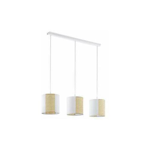 Eglo Arnhem 43402 lampa wisząca zwis 3x40W E27 biała/beżowa (9002759434021)