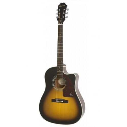 Epiphone aj-210ce vs outfit gitara elektroakustyczna zestaw