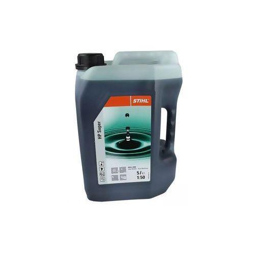 Stihl Olej syntetyczny do silników dwusuwowych hp super 5l (na 250 litrów benzyny) negocjuj cenę! => 794037600, szkolenia, dostawa od ręki!