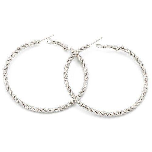 Kolczyki srebrne koła - srebrne wyprodukowany przez Cloe