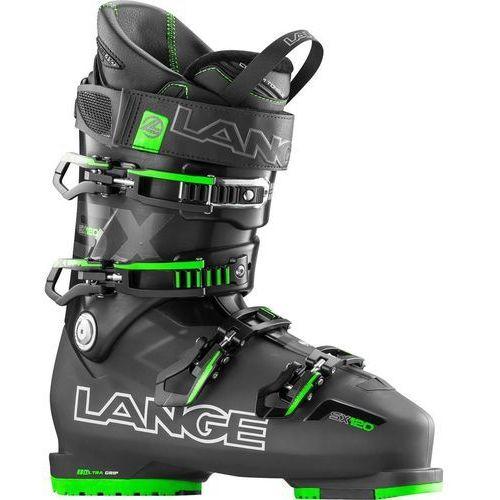 Buty narciarskie sx 120 2016 czarny|zielony marki Lange