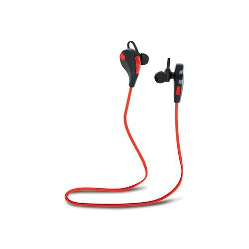 Słuchawki Bluetooth Forever BSH-100 czerwono-czarne