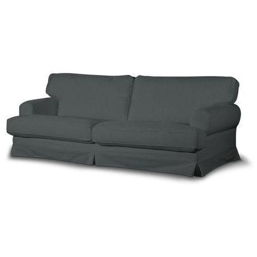 Dekoria Pokrowiec na sofę Ekeskog rozkładaną, szary szenil, sofa ekeskog rozkładana, Vintage, kolor szary