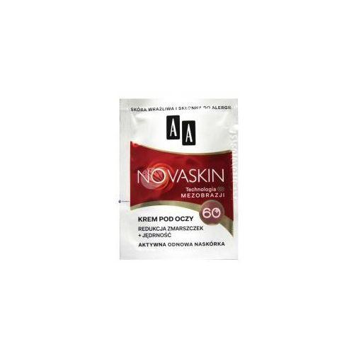 PRÓBKA AA NOVASKIN 60+ (W) krem pod oczy redukcja zmarszczek + sprężystość 1,5ml