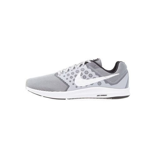 Nike Performance DOWNSHIFTER 7 Obuwie do biegania treningowe wolf grey/white/black, kolor szary