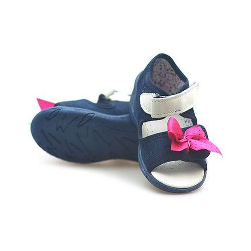 Sandałki dziecięce Befado 433P002 Granatowe, kolor niebieski