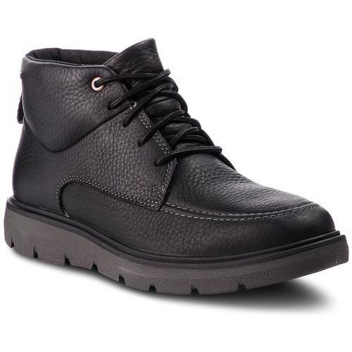 Clarks Trzewiki - un map mid gtx gore-tex 261367957 black leather