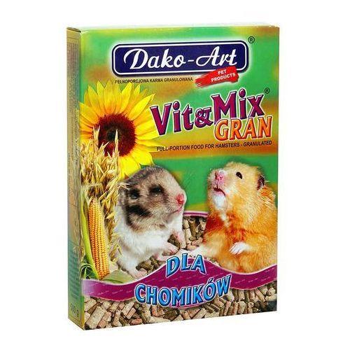 DAKO-ART Vit&Mix Gran - granulowany pokarm dla chomików 25kg (5906554103127)