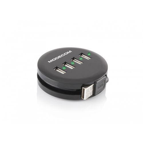 Hub MODECOM Round 4 porty USB 2.0