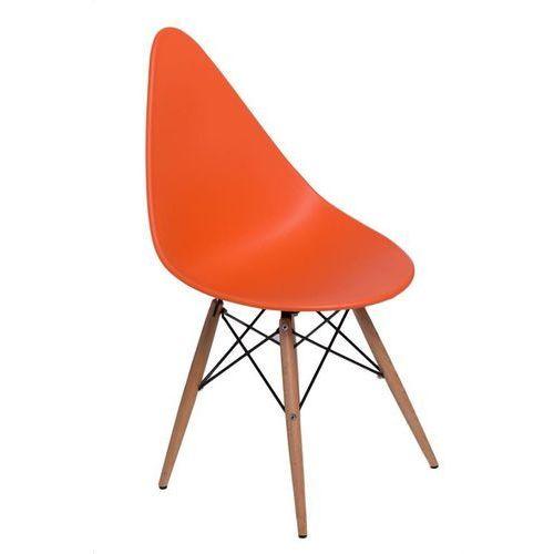 Krzesło rush dsw pomarańczowe marki D2.