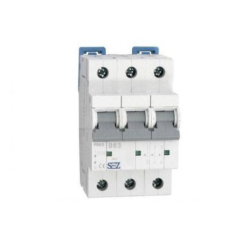 Pce B63a 3p 10ka wyłącznik nadprądowy bezpiecznik typ s eska pr63 sez 0654 (8585009000654)