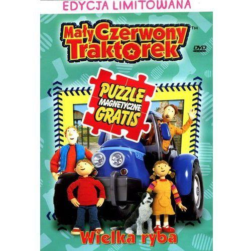 Mały czerwony traktorek: wielka ryba + puzzle marki Smyk.com