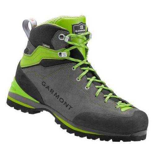Garmont buty turystyczne męskie Ascent GTX Anthracite/Green 10,5 (45 EU)