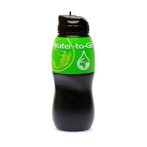 Water-to-go Butelka z filtrem wtg! 75cl - czarno/zielony