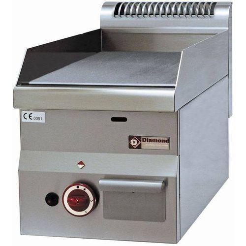 Diamond Płyta grillowa gazowa gładka nastawna   295x470mm