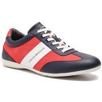 Emporio armani Sneakersy - x4c475 xl473 a052 night/white/lava/lav