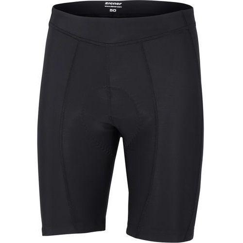 Ziener carmo x-function spodnie rowerowe mężczyźni czarny 58 2018 spodnie szosowe