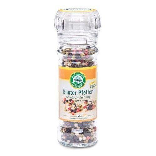 Pieprz kolorowy w młynku bio 45 g - lebensbaum marki Lebensbaum (przyprawy, herbaty, kawy)