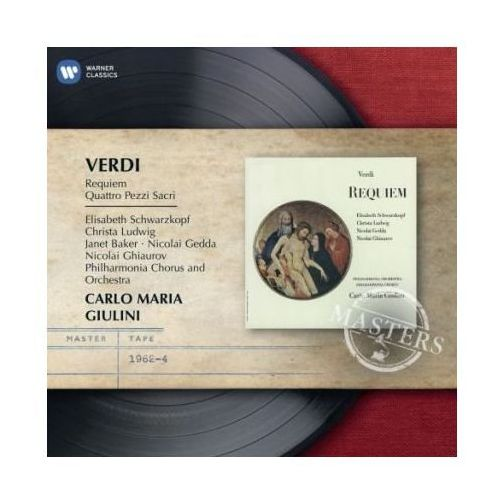 REQUIEM & FOUR SACRED PIECES - Carlo Maria Giulini (Płyta CD)