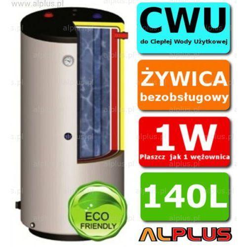 ERMET 140l WISZĄCY pionowy dwupłaszczowy bojler do CWU - podgrzewacz wymiennik bezobsługowy - WYSYŁKA GRATIS, DPWWisz - E.P.G.C 140l +skay