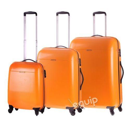 Zestaw walizek pc 005 - pomnarańczowy marki Puccini