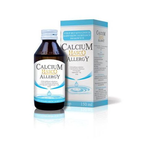 CALCIUM HASCO ALLERGY Syrop 150ml