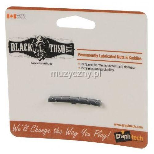 Graphtech black tusq xl siodełko do gitary typu strat (42,93 x 5,33 x 3,35 mm, e-e: 35,18 mm)
