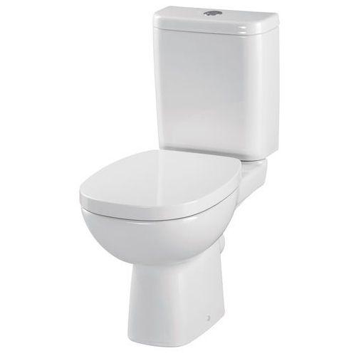 facile kompakt wc, doprowadzenie z boku, deska twarda k30-017 marki Cersanit