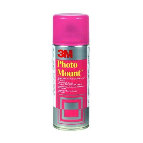 Klej w sprayu photomount (uk9479/10), do papieru fotograficznego, 400ml marki 3m