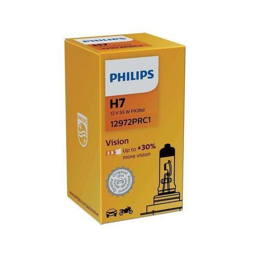 Żarówka samochodowa vision 12972prc1 h7 px26d/55w/12v marki Philips