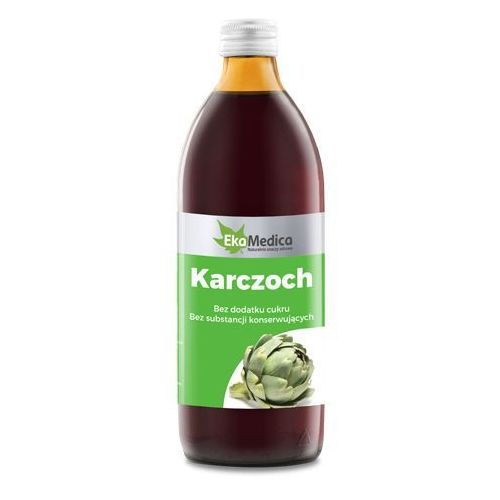 Karczoch sok (500 ml) EkoMedica, 000491