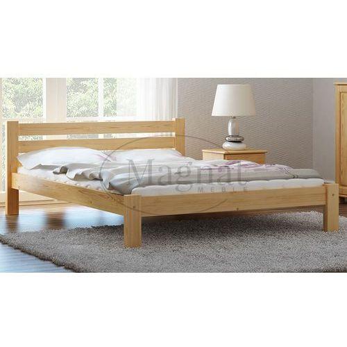 Łóżko sosnowe Azja 140x200