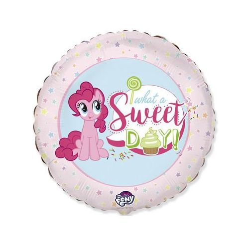 Balon foliowy My little Pony Sweet Day - 47 cm - 1 szt (8435102302714)