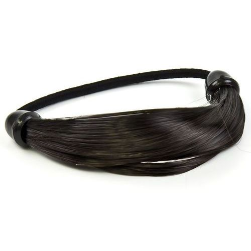 Gumka owijka włosy ciemne treska - czarny marki Cloe