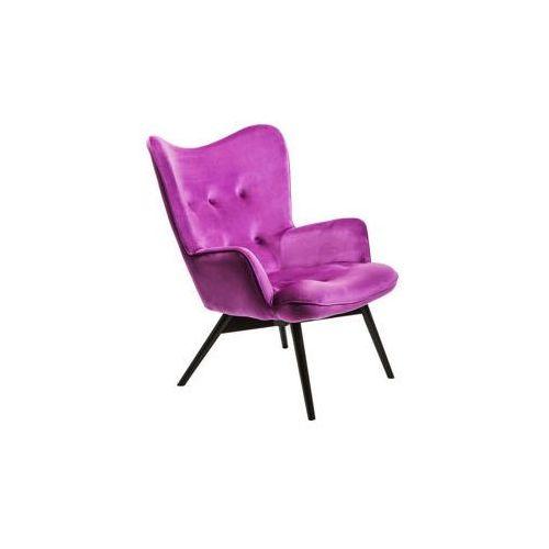 KARE Design:: Fotel Vicky Purple Velvet, 82662