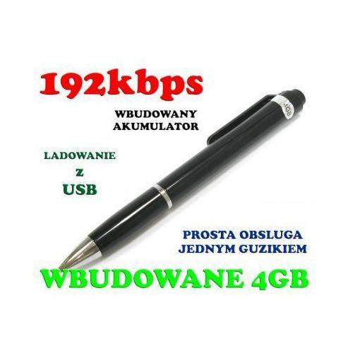 Podsłuch Nagrywający Dźwięk Ukryty w Długopisie (poj. 4GB/70h.).