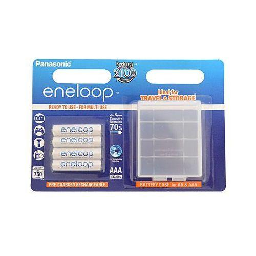 Hama Akumulatory panasonic eneloop r03 aaa 750mah 4szt. + pudełko (5410853052708)