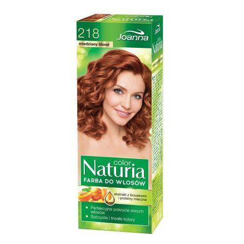 Joanna Naturia Color Farba do włosów nr 218-miedziany blond 150g (5901018015374)