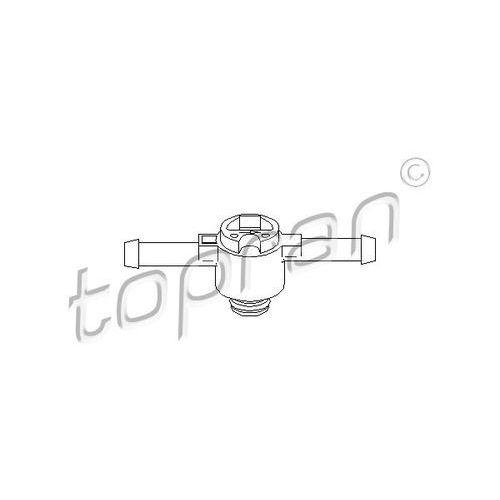 Zawór, filtr paliwa  108 643 marki Topran