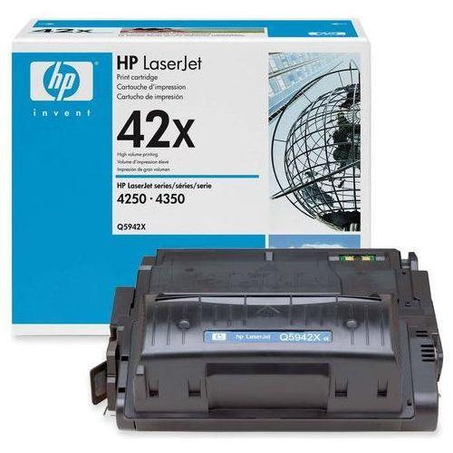Wyprzedaż oryginał toner 42x do laserjet 4250/4350 | 20 000 str. | czarny black marki Hp