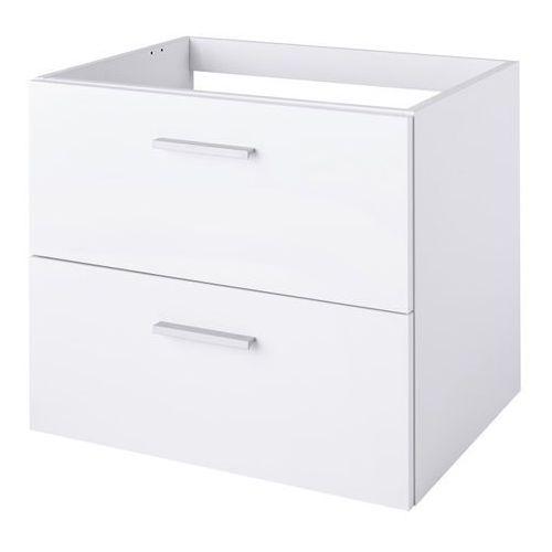 Szafka pod umywalkę Slapton 60 cm wisząca biała (3663602962229)
