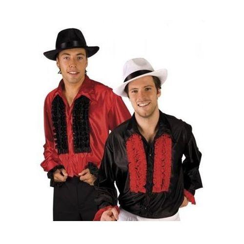 Koszula z falbanami dwukolorowa - M, L, XL - stroje/przebrania dla dorosłych