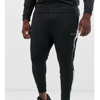 ASOS 4505 Plus super skinny training joggers with side stripe - Black
