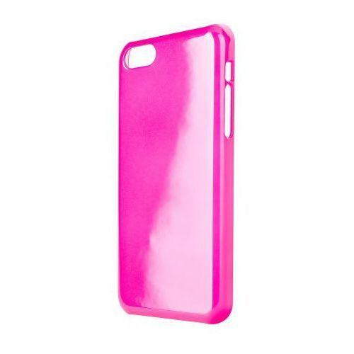 Xqisit Etui do apple iphone 5c iplate glossy różowy