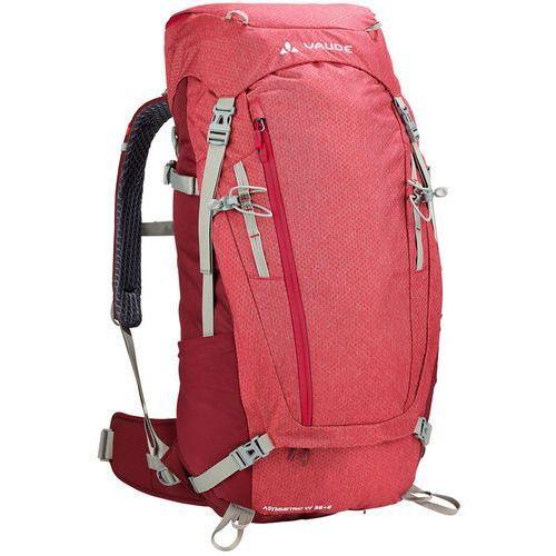 Vaude asymmetric 38+8 plecak czerwony 2018 plecaki turystyczne